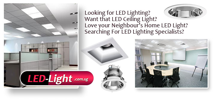 Looking for LED Lighting? Want that LED Ceiling Light? Love your Neighbour's Home LED Light? Searching For LED Lighting Specialists? LED-Light.com.sg - #1 LED Lighting Specialists in Singapore