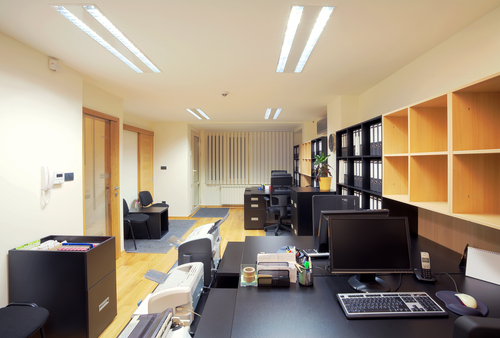 is led light suitable for office