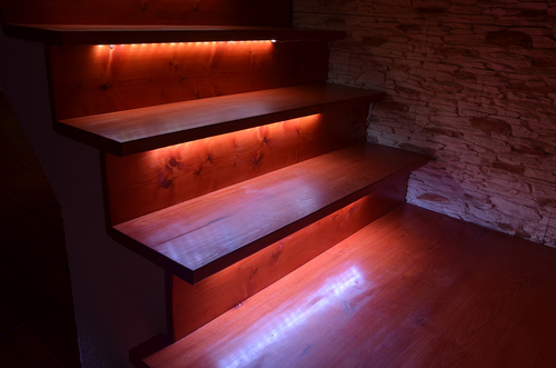 What is the best kind of lighting for building staircase Cool things to do with led strips
