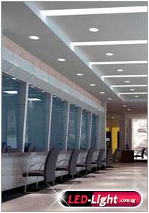 Office Interior Design Lighting